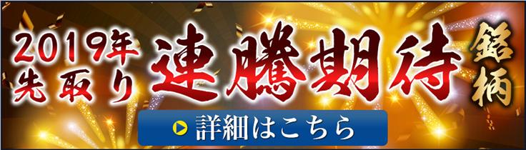 2019年先取り連勝期待銘柄キャンペーン